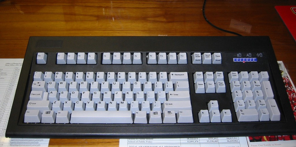 Unicomp mechanical keyboard