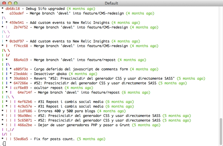 Terminal tuning for Git developers in Mac · Harecoded